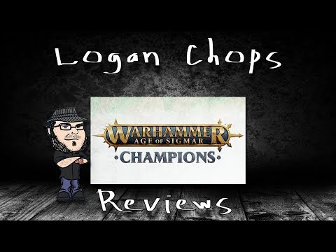"Logan Chops Reviews - Warhammer: Champions Death Deck ""The Court of the Damned"""