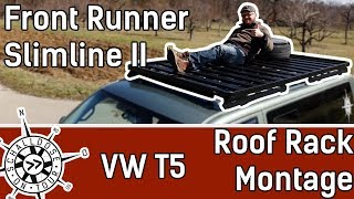 Bustav bekommt ein Front Runner Roof Rack || SCHALLDOSE ON TOUR