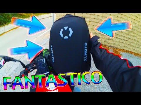 ZAINO XLMOTO! SODDISFATTO DELL' ACQUISTO!? PRO&CONTRO.