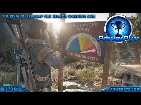 Days Gone - All Tourism Collectible Locations