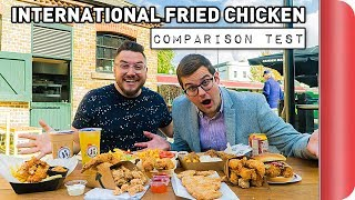 4 International Fried Chicken Recipes COMPARED