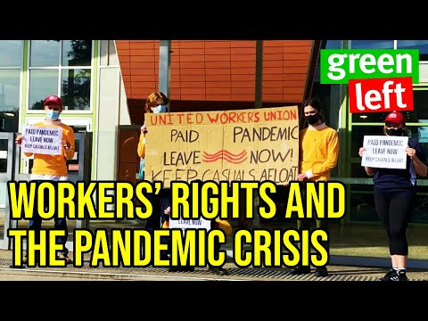 Public Forum: Workers' rights and the pandemic crisis