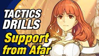 Fire Emblem Heroes - Tactics Drills: Grandmaster 48: Support from Afar (1 ORB) [FEH]