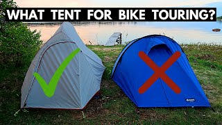 What To Look For In A Bike Touring Tent