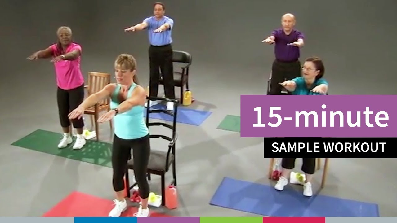 15-Minute Sample Workout for Older Adults