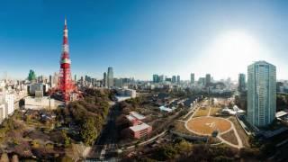 東京タワーバノラマ空撮