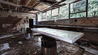 ABANDONED HOSPITAL MORGUE, Autopsy Room And Body Fridges