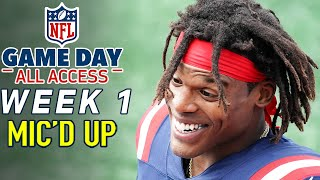 "NFL Week 1 Mic'd Up! ""We stayin' fresh as huggies, FRESH"" 