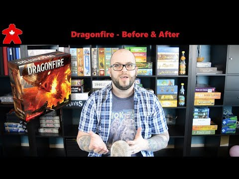 Meeple Leaf Reviews: Dragonfire - Before & After
