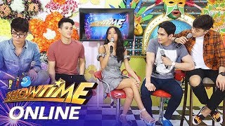 "It's Showtime Online: Ylona Garcia samples ""Win The Fight"" song"