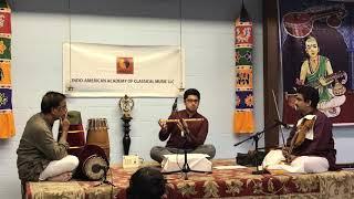 Shrisha's flute recital 2