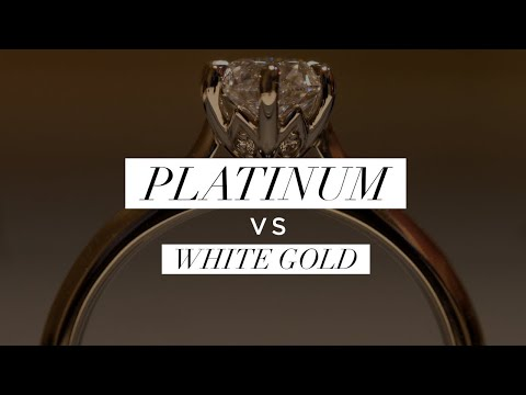 Platinum vs. White Gold, Top 5 Differences