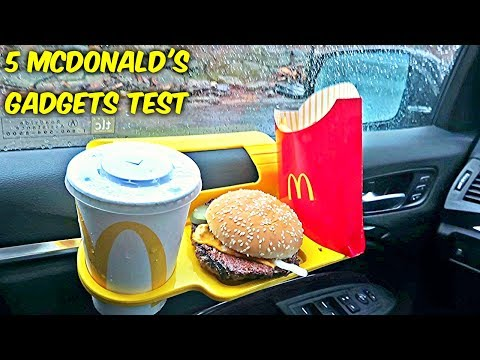 5 McDonald's Gadgets put to the Test! HD Mp4 3GP Video and MP3