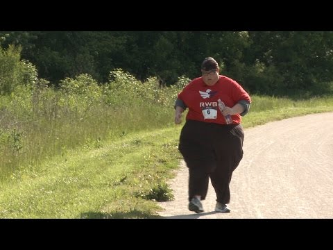 Meet the Obese Man Running 5km Races to Lose Weight