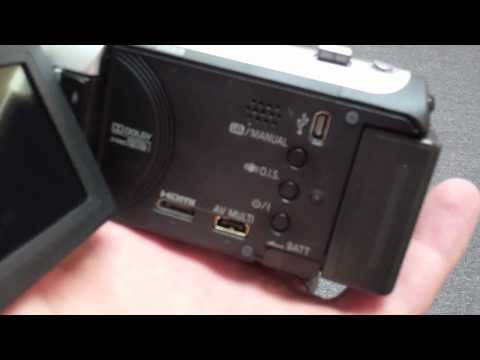 Panasonic HDC SD80 Camcorder Review [HD] Pt 1 of 3 - Demonstration & Touchscreen Menus