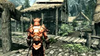 Лучший мод (Immersive Armors) для The Elder Scrolls V: Skyrim Установка мода