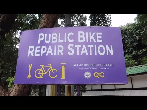 [Gadget Addict]  Quezon City Bicycle Repair Stations