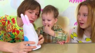 """Видео-обзор зайчика Alilo V8 на детском канале """"Луномосик"""""""