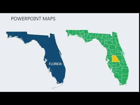PowerPoint Maps Of Florida With Counties Mp3