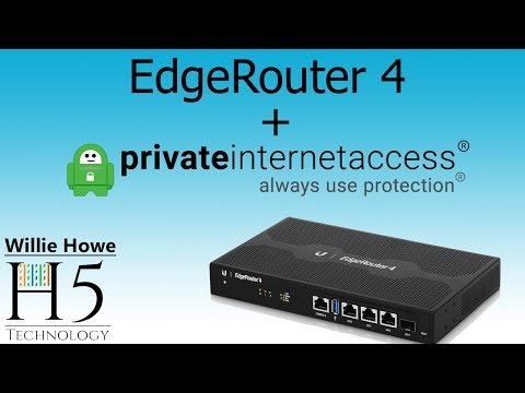 Ubiquiti EdgeRouter - EdgeSwitch - Dedicated Private Internet VLAN
