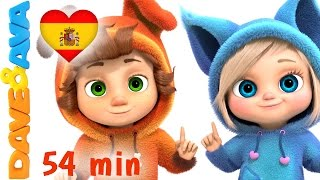 😊 Videos Infantiles | Un Dedito Parte 2 - Colección | Сanciones Infantiles de Dave y Ava 😊