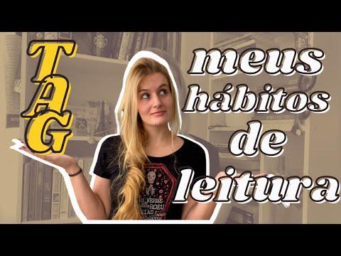 TAG: MEUS HÁBITOS DE LEITURA | Laura Brand
