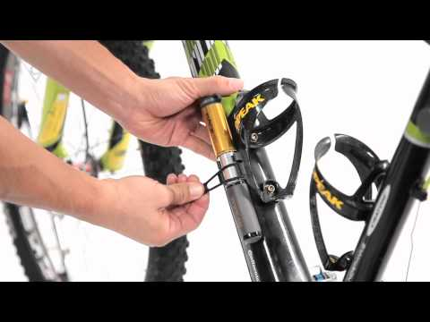 Topeak Racerocket HP pumpe sort video