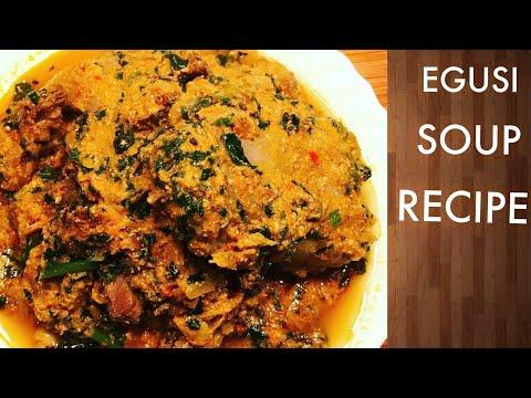 HOW TO MAKE EGUSI SOUP|NIGERIA FOOD| EGUSI STEW