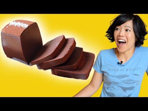 Chocolate Jelly | Chocolate & Milk – No Gelatin, No Flour, No Oven, Really?