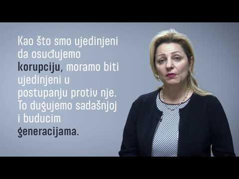 Ambassador Apostolova on anti-corruption - Serbian