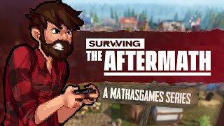 POST-APOCALYPTIC BANISHED?! | Mathas Plays Surviving The Aftermath - 1