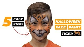 How To: Tiger Face Paint For Halloween | CBC Parents