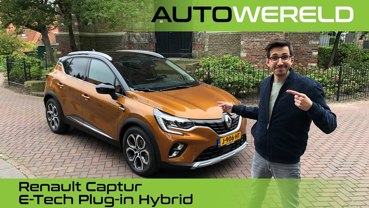 Renault Captur E-Tech Plug-in Hybrid met Andreas Pol