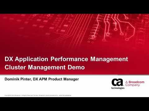 dx-application-performance-management-cluster-management-demo