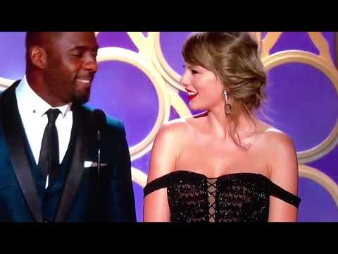 Taylor Swift Appears At The Golden Globe Awards 2019