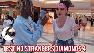 TESTING STRANGERS DIAMONDS😭💎 ATLANTA MALL EDITION PT 4 | PUBLIC INTERVIEW