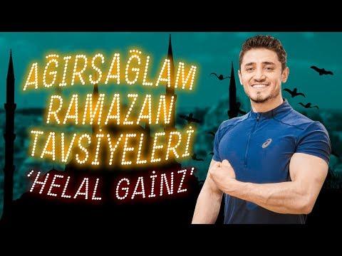 9 Tavsiye ile Ramazan'da Spor ve Beslenme! (Helal Gainz)