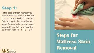 How To Remove Mattress Stains Using Hydrogen Peroxide | Mattress Stain Cleaning Tips