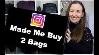 2 Bags Instagram Made Me Buy