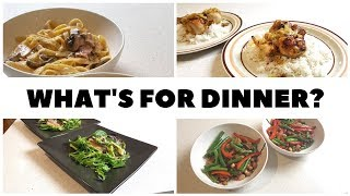 WHAT'S FOR DINNER? | Easy And Budget Friendly Family Meal Ideas #3