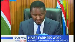 Focus on North Rift maize farmers plight as they were turned away with their produce