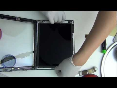 iPad 4 TearDown Disassembly Review (HD) repair iPad with Retina screen display