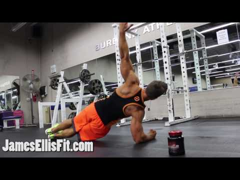Side Plank to Reach Under