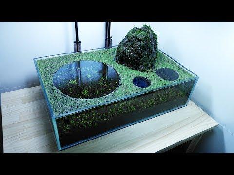 (New Setup) Volcano Filter Aquarium - YES filter, NO CO2, NO Ferts 7.6 Gallon Tank
