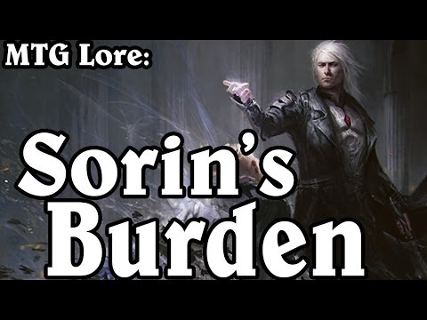 MTG Lore: Sorin's Burden