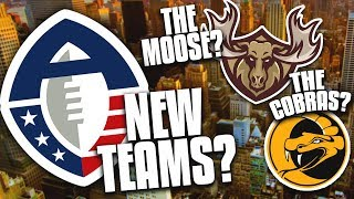 10 Cities that NEED an AAF Team ASAP!...and What their Names SHOULD BE