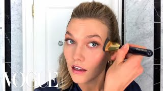 Karlie Klosss Night Out Beauty Routine | Beauty Secrets | Vogue