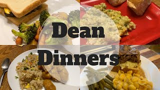 #whatsfordinner || Dean Dinners || COOK WITH ME