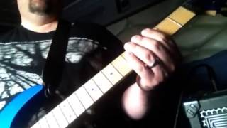 "Anthrax ""Nothing"" Guitar Lesson"