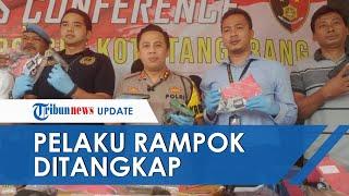 Pelaku Perampokan di Tengah Tol Tangerang-Merak Ditangkap, Tiga Orang Lain Masih Buron